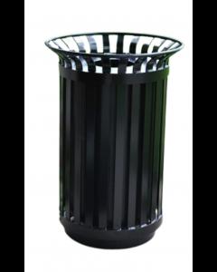 Receptacle - Waste Outdoor 32gal Victoria