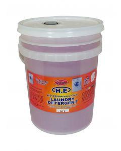 Laundry Detergent HE Liquid (Pink) - 20L