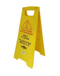 Sign - ''Wet Floor''