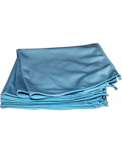 "Microfibre WINDOW Cloth - 16"" x16"" Blue #B20207"
