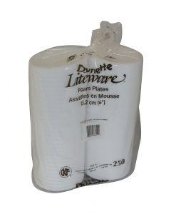 """Plate Foam Dynette - 6"""" (1000)"""
