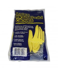 Gloves - Yellow Latex