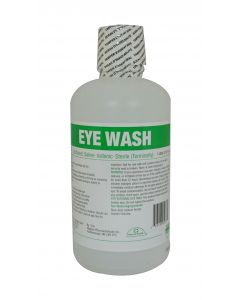 Eyewash Bottle - 1L PreFilled