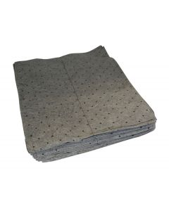"Poly Absorbent Pads - Universal 15"" x 18"" Medium Weight (100)"