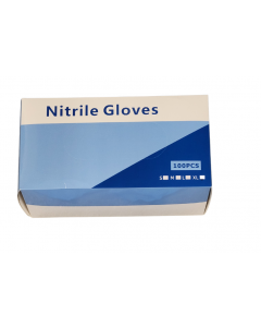 Gloves - Disposable Nitrile PF Large (100)
