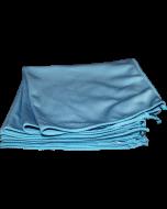 "Microfibre WINDOW Cloth - 16"" x16"" Blue #B20207"